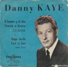 Discos de vinilo: DANNY KAYE, EL HOMBRE Y EL NIÑO. COLUMBIA,195?.. Lote 161884874
