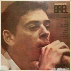 Discos de vinilo: JACQUES BREL – VOLUMEN 3 / BARCLAY / 1968. Lote 161887758