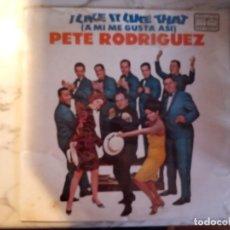Discos de vinilo: PÈTE RODRIGUEZ I LIKE IT LIKE THAT LATIN SOUL BOOGALOO LP VENEZUELA 1967 NUEVO A ESTRENAR!. Lote 161895518