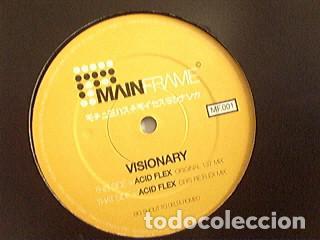VISIONARY – ACID FLEX / MAINFRAME / 2000 (Música - Discos de Vinilo - EPs - Techno, Trance y House)