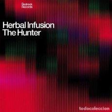 Discos de vinilo: HERBAL INFUSION \ THE HUNTER / BEDROCK RECORDS / 2003. Lote 161908490