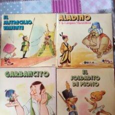 Discos de vinilo: 4 DISCO CUENTOS POPULARES. Lote 161908546