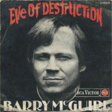 Dischi in vinile: BARRY MCGUIRE, EVE OF DESTRUCTION +3 (RCA,1966). Lote 161914054
