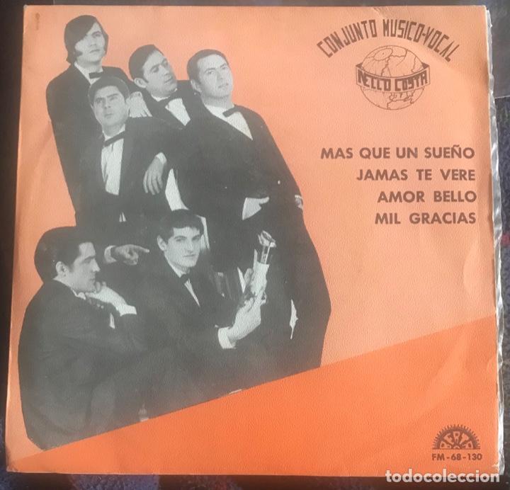 """NELLO COSTA """"JAMÁS TE VERÉ"""" MUY RARO EP BERTA 1969 SPANISH TEMAZO SOUL POP NELO (Música - Discos - Singles Vinilo - Grupos Españoles 50 y 60)"""