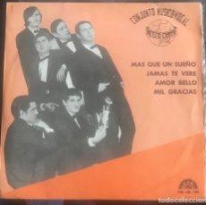 "Discos de vinilo: NELLO COSTA ""JAMÁS TE VERÉ"" MUY RARO EP BERTA 1969 SPANISH TEMAZO SOUL POP NELO. Lote 161919910"