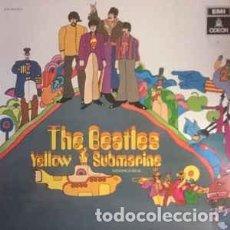 Discos de vinilo: THE BEATLES - YELLOW SUBMARINE (ODEON, 044-1040021 LP, RE 1987) BUEN ESTADO!. Lote 161940366