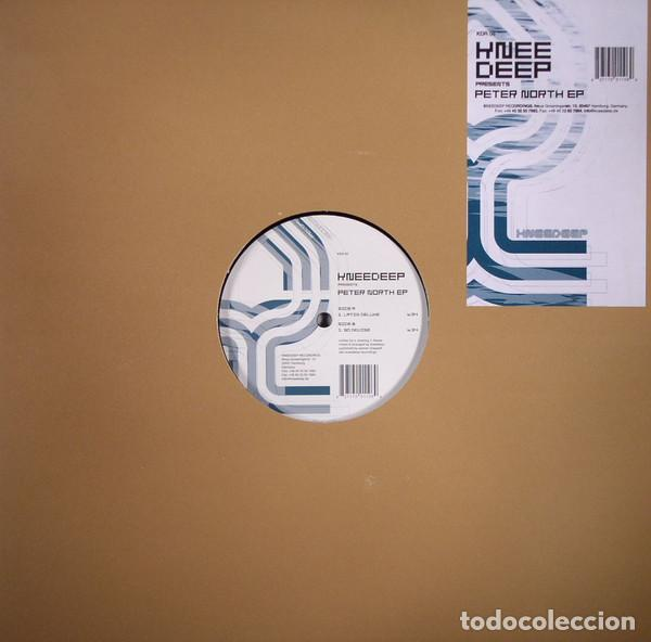 KNEE DEEP – PETER NORTH EP / KNEEDEEP RECORDINGS / VINYL, 12 EP, 45 RPM / 2004 (Música - Discos de Vinilo - EPs - Techno, Trance y House)