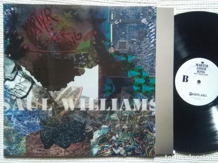 SAUL WILLIAMS '' MARTYR LOSER KING '' LP + INNER 2016 USA SHRINK (Música - Discos - LP Vinilo - Rap / Hip Hop)
