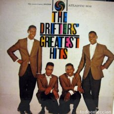 Discos de vinilo: THE DRIFTERS.THE DRIFTERS' GREATEST HITS.ATLANTIC.CANADA.1960.. Lote 161956014