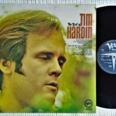 Discos de vinilo: TIM HARDIN - '' THE BEST OF '' LP UK 1969 STEREO VERVE RECORDS. Lote 161957398