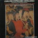 Discos de vinilo: CANÇONS POPULARS CATALANES -CARMEN BUSTAMANTE, SOPRANO & MANUEL GARCIA MORANTE, PIANO - LP PDI 1983. Lote 161957970