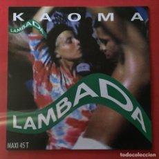 Discos de vinilo: KAOMA – LAMBADA. Lote 161958618