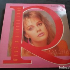 Discos de vinilo: ROXANNE --- GIVE A LITTLE LOVE. Lote 161982534