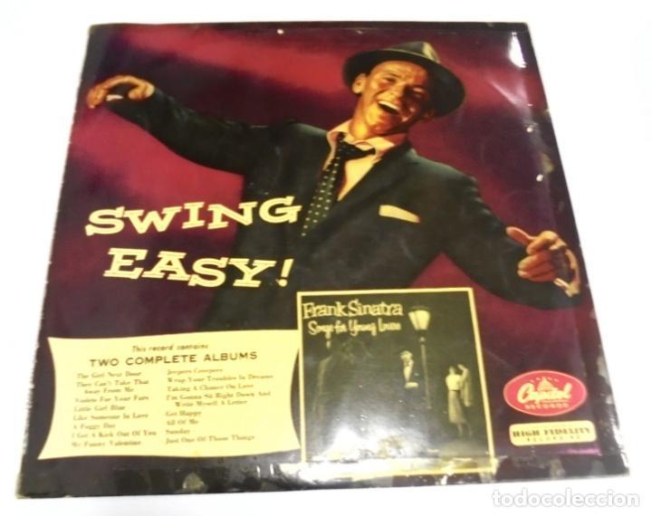 LP. FRANK SINATRA. SWING EASY!. 1958. CAPITOL RECORDS (Música - Discos - LP Vinilo - Cantautores Extranjeros)