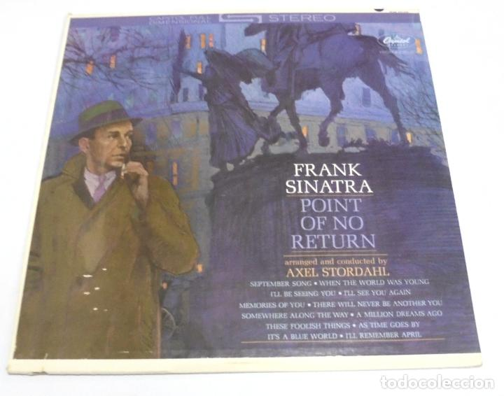 LP. FRANK SINATRA. POINT OF NO RETURN. CAPITOL (Música - Discos - LP Vinilo - Cantautores Extranjeros)