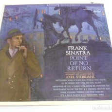 Discos de vinilo: LP. FRANK SINATRA. POINT OF NO RETURN. CAPITOL. Lote 161985890