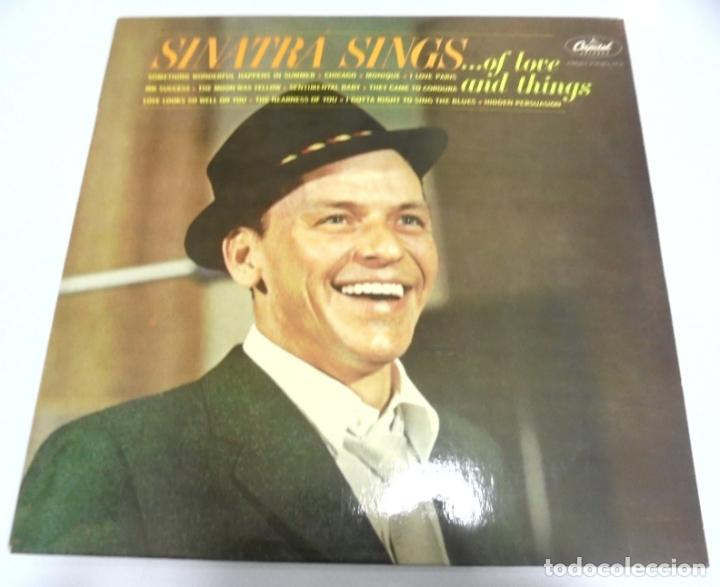 LP. SINATRA SINGS ...OF LOVE AND THINGS. CAPITOL (Música - Discos - LP Vinilo - Cantautores Extranjeros)