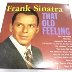 Discos de vinilo: LP. FRANK SINATRA. THAT OLD FEELING. CBS. Lote 161987486