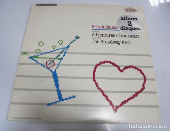 LP DOBLE. FRANK SINATRA. ADVENTURES OF THE HEART / THE BROADWAY KICK. 1985. CBS (Música - Discos - LP Vinilo - Cantautores Extranjeros)