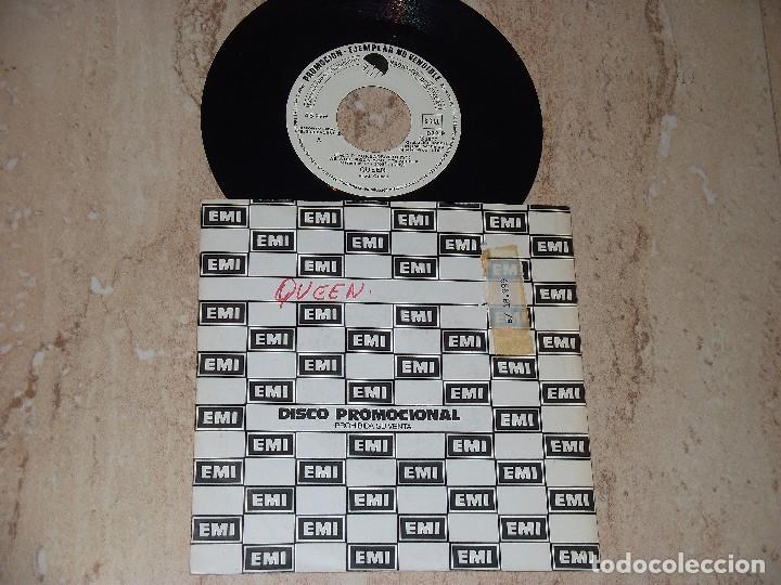 QUEEN - WE WILL ROCK YOU / BOHEMIAN RHAPSODY - PROMOCIONAL ESPAÑA-- EMI ?– 022-P-1981- (Música - Discos - Singles Vinilo - Pop - Rock - Extranjero de los 70)