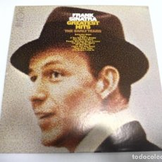 Discos de vinilo: LP. FRANK SINATRA. GREATEST HITS. THE EARLY YEARS. 1973. COLUMBIA. Lote 161989054