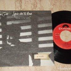 Discos de vinilo: THE CURE LET'S GO TO BED VAMOS A LA CAMA / ESPAÑA-POLYDOR-1982-. Lote 161989774