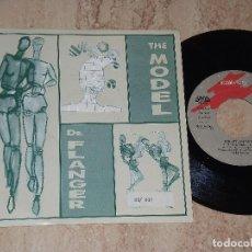 Discos de vinilo: DR FLANGER SG GASA 1989 THE MODEL (5:08)/ THE MODEL (3:39)/ THE MODEL (INSTRUM 5:55) KRAFTWERK COVER. Lote 161990138