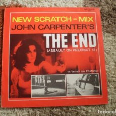 Discos de vinilo: MAXI 12 PULGADAS. JOHN ANTHONY SCRATCH MIX. JOHN CARPENTER. THE END.. Lote 161991910