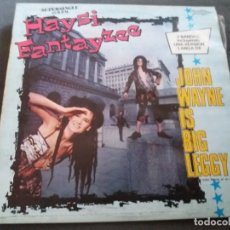 Discos de vinilo: HAYSI FANTAYZEE --- JOHN WAYNE IS BIG LEGGY (SUPERSINGLE - 3 BANDAS). Lote 161994518
