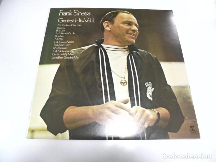 LP. FRANK SINATRA. GREATEST HITS. VOL.II. 1978. SHOREPAK (Música - Discos - LP Vinilo - Cantautores Extranjeros)