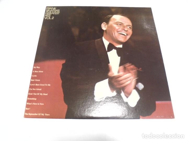 LP. FRANK SINATRA. GREATEST HITS. VOL.2. REPRISE RECORDS. 1972 (Música - Discos - LP Vinilo - Cantautores Extranjeros)