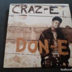 Discos de vinilo: DON-E --- CRAZY. Lote 161996790