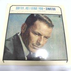 Discos de vinilo: LP. FRANK SINATRA. SOFTLY, AS I LEAVE YOU. REPRISE. Lote 161998434