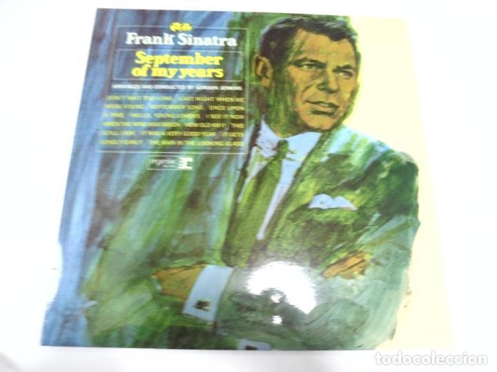 LP. FRANK SINATRA. SEPTEMBER OF MY YEARS. REPRISE (Música - Discos - LP Vinilo - Cantautores Extranjeros)