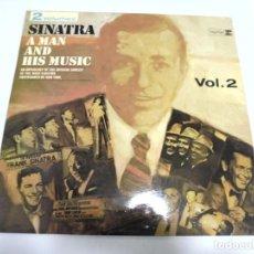 Discos de vinilo: LP. FRANK SINATRA. A MAN AND HIS MUSIC. VOL.2. DISQUES VOGUE. Lote 210541603