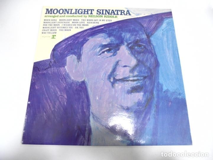 LP. FRANK SINATRA. MOONLIGHT SINATRA. DISQUES VOGUE (Música - Discos - LP Vinilo - Cantautores Extranjeros)