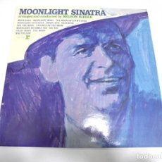 Discos de vinilo: LP. FRANK SINATRA. MOONLIGHT SINATRA. DISQUES VOGUE. Lote 162004194