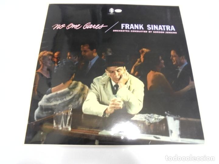LP. FRANK SINATRA. NO ONE CARES. 1970. CAPITOL (Música - Discos - LP Vinilo - Cantautores Extranjeros)