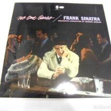 Discos de vinilo: LP. FRANK SINATRA. NO ONE CARES. 1970. CAPITOL. Lote 162006374