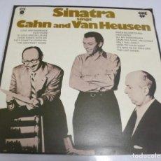 Discos de vinilo: LP. SINATRA SINGS CAHN AND VAN HEUSEN. 1974. EMI RECORDS. Lote 162007582