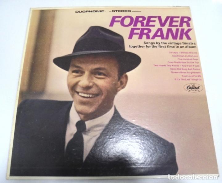 LP. FRANK SINATRA. FOREVER FRANK. 1971.CAPITOL (Música - Discos - LP Vinilo - Cantautores Extranjeros)