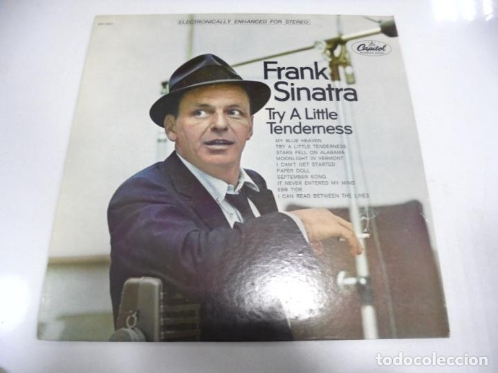 LP. FRANK SINATRA. TRY A LITTLE TENDERNESS. 1967. CAPITOL (Música - Discos - LP Vinilo - Cantautores Extranjeros)