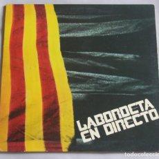 Discos de vinilo: LABORDETA EN DIRECTO - LP - MOVIEPLAY SERIE GONG 1971 SPAIN GATEFOLD. Lote 162012746