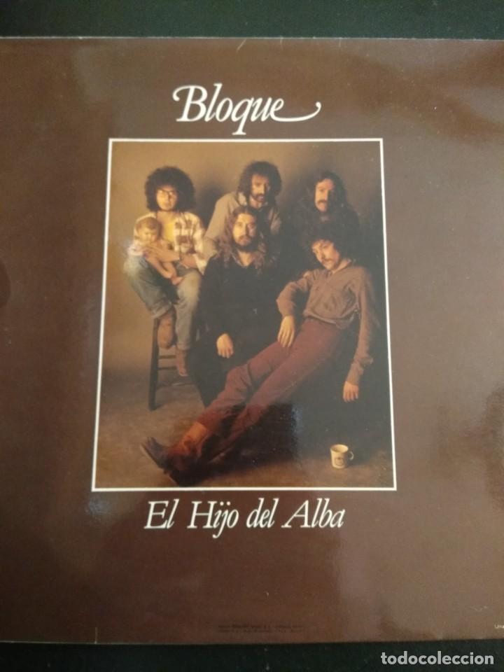 Discos de vinilo: BLOQUE LP El hijo del alba - Foto 2 - 162013994