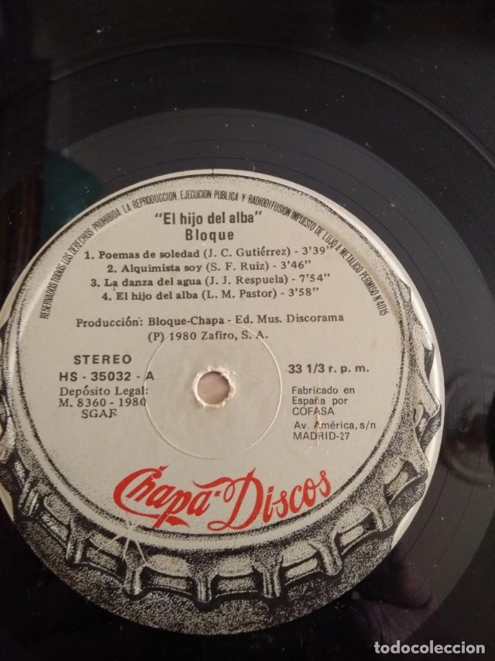 Discos de vinilo: BLOQUE LP El hijo del alba - Foto 5 - 162013994
