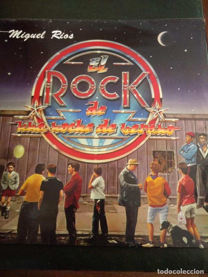 MIGUEL RIOS, LP EL ROCK DE UNA NOCHE DE VERANO (Música - Discos - LP Vinilo - Rock & Roll)