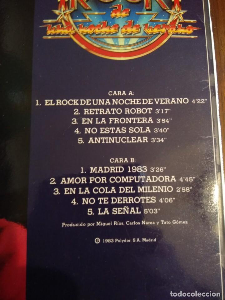 Discos de vinilo: Miguel Rios, LP El rock de una noche de verano - Foto 2 - 162016162