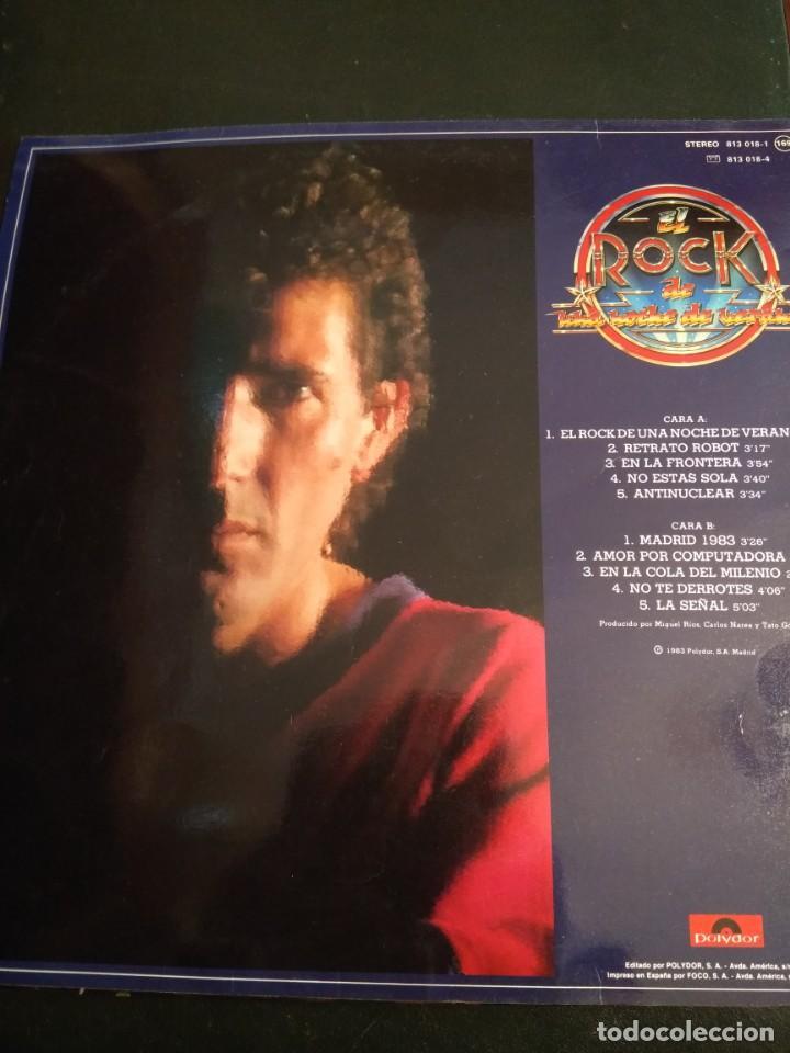 Discos de vinilo: Miguel Rios, LP El rock de una noche de verano - Foto 3 - 162016162