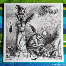 Discos de vinilo: GUTTER INSTINCT - AGE OF THE FANATICS 12'' LP NUEVO Y PRECINTADO - DEATH METAL BLACK METAL. Lote 162016666