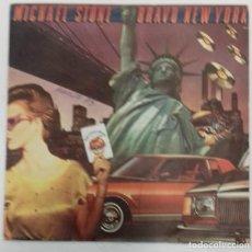 Discos de vinilo: MICHAEL STONE - BRAVO NEW YORK SG ED ESPAÑPOLA 1979. Lote 162018330